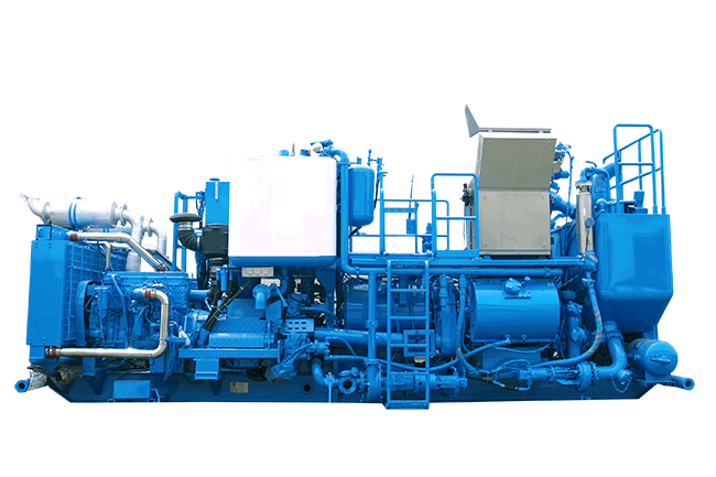 PCS-421B Auto Density Control Double Pump Cementing Skid