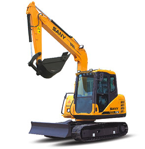 New Generation Hydraulic Excavator:SY75CⅢ