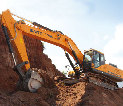 New Generation Hydraulic Excavator:SY465C