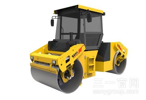 STR Series Full Hydraulic Tandem Roller:STR70-5