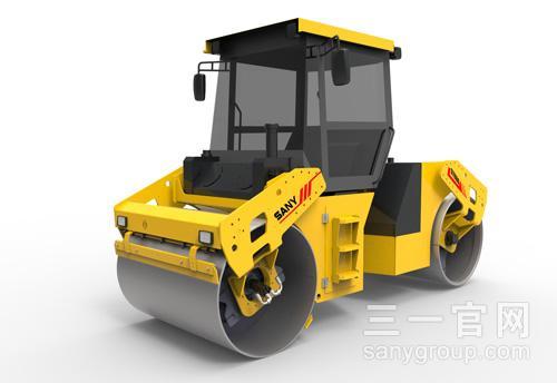 STR Series Full Hydraulic Tandem Roller:STR80-5