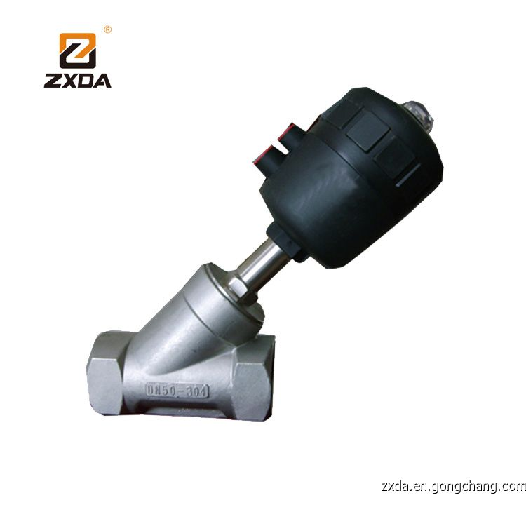Pneumatic Angle Seat Valve,Threaded Angle Valve