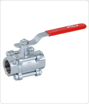 Ball Valve 3Pc Design Screwed End / Socket Weld End
