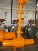 12''-600lb full welding body ball valve