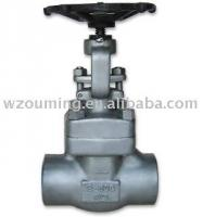 Forged Stainless iron Gate Valve(cast steel gate valve,industrial valve)