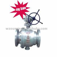 API flanged trunnion Ball Valve
