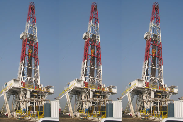 ZJ50/3150LDB Skid Mounted Drilling Rig