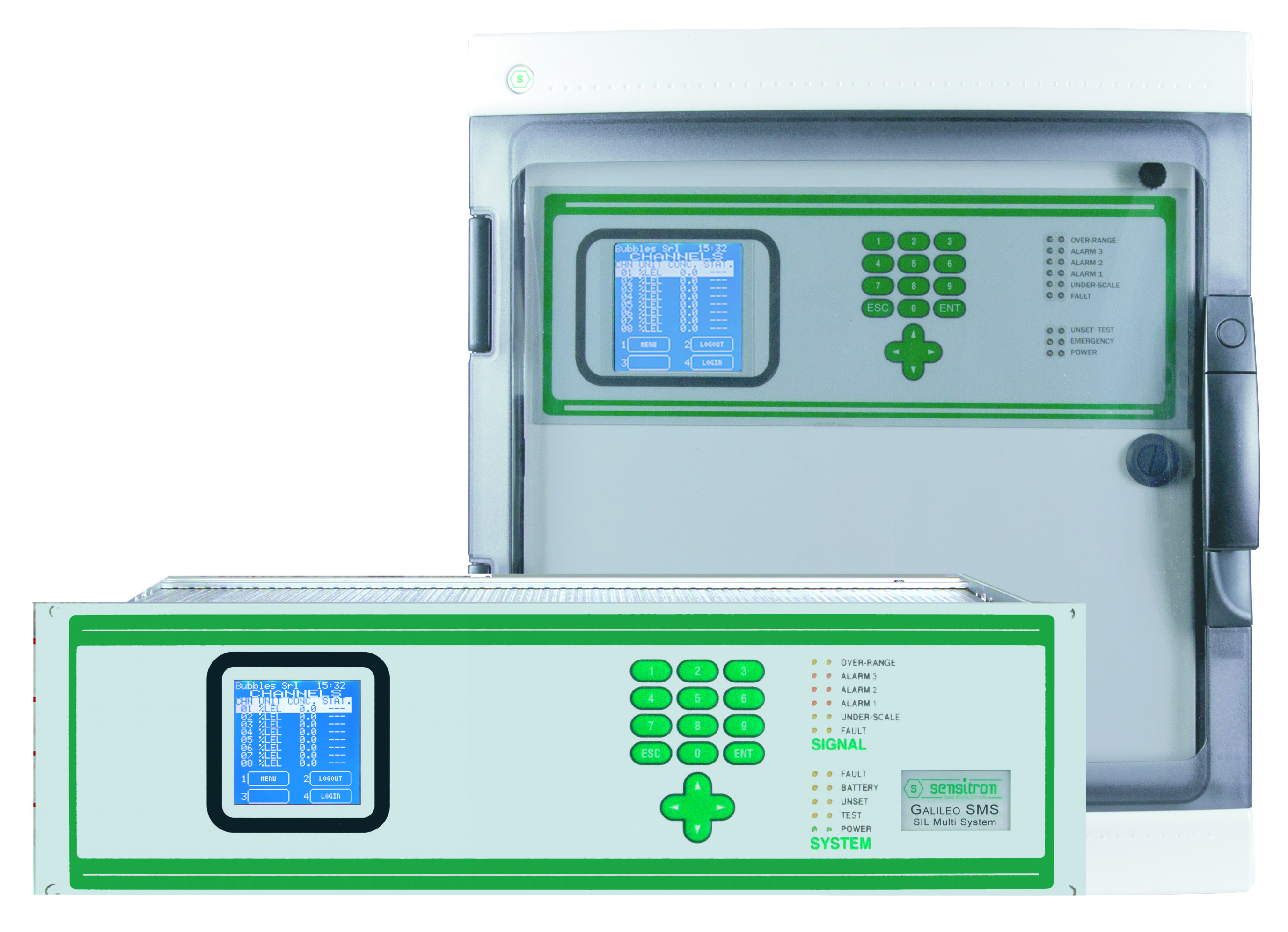 MULTISCAN++ S1	Control Unit	SIL 1 Gas Control Panel