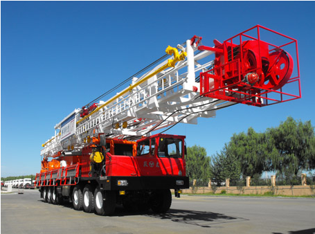 truck-mounted drilling