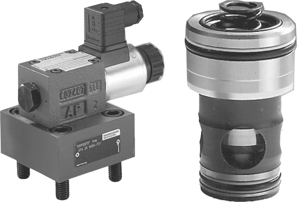 Types LC and LFA 2-way cartridge valves