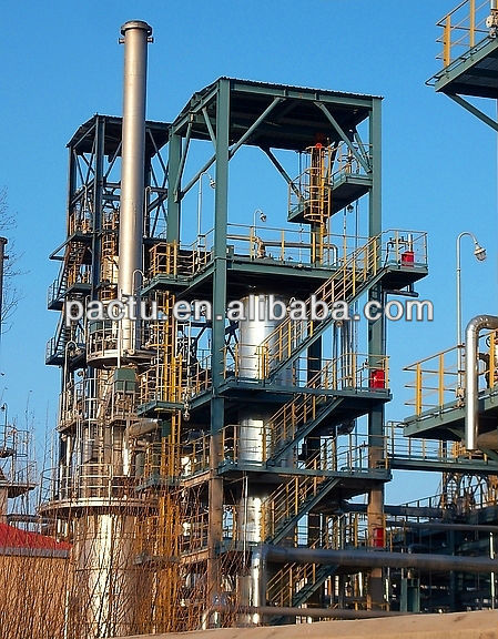 Crude oil refinery